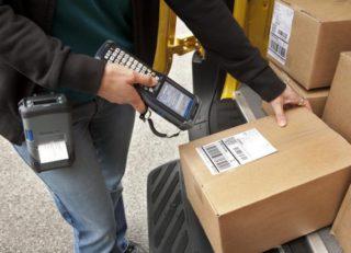 Сканер штрих кода, печать этикеток